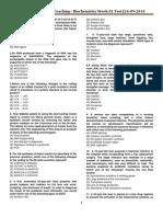 1.NDC-Biochemistry-Week-01 (14-09-2014)
