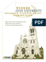 Saint Louis University Research Cluster Grant Competition Whitepaper by Silicon Mechanics