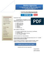 Mehta Agencies Profile