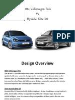 Comparison between 2014 Volkswagen Polo vs Hyundai Elite i20