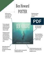 Ben Howard Poster Deconstruction