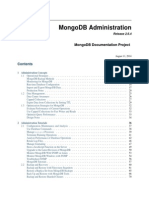 MongoDB Administration Guide