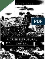 Mészáros - Crise Estrutural Do Capital