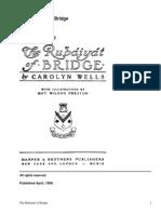 The Rubáiyát of Bridge by Wells, Carolyn, 1862-1942