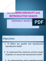 Sex,Gender,Sexuality and Reproductive Health Ppt