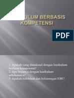 KURIKULUM BERBASIS KOMPETENSI
