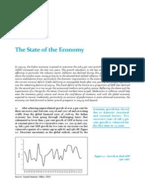 Economic Survey2013 14 Economic Growth Gross Domestic Product