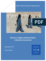 Women in ANP - A Baseline Assessment