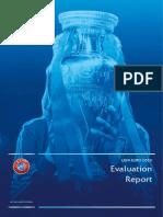 UEFA EURO 2020 Evaluation Report