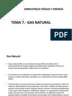 Tema 7- Gas Natural