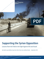 Supporting the Syrian Opposition