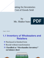Accounting for Inventories