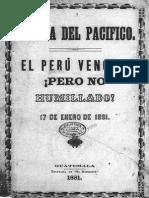 El Perú vencido pero no humillado