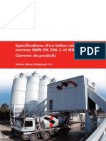 Specifications Beton Selon Normes-NBN en 206-1 NBN B15-001