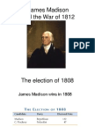 madison and the war of 1812
