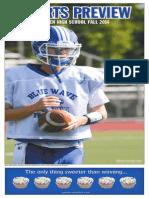 Darien High School Fall 2014 Sports Preview