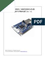 WIZ220IO User Manual V1 0 0