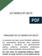 Ley Marco Nº 28175 (1)