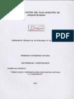 Forestacion y Reforestacion Con Plantas Nativas Cc Yuncaypata (2007-37)