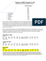 HRW Harvest Summary September 5 2014