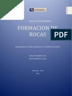 Monografia, Rocas