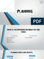 CPP - Planning