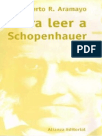 Aramayo Roberto - Para Leer a Schopenhauer