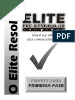 Fuvest 04 Fase1 ELITE