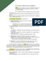 1 Componentes,Funciones y Objetivos de La Empresa