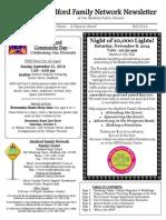 Medford Family Network Fall 2014 Newsletter
