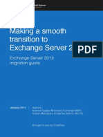 Exchange 2013 Migration Guide