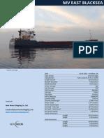 MV East Blacksea - Ship Brochure (New)