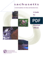 Massachusetts Erosion and Sedimentation Control Guidelines