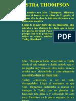 Presentacion 00, La Maestra de Teddy