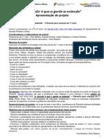 2014-15 Apresentação Do Projeto Filosofia Para Crianças Do 1º Ciclo