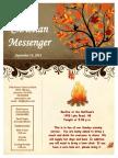 September 14 Newsletter