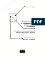 Physical Design & Implementation of Relational Database