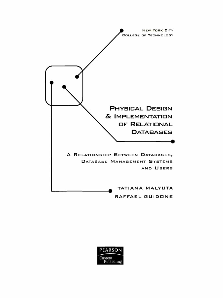 Physical design implementation of relational database databases physical design implementation of relational database databases conceptual model ccuart Images