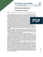 Orden INT-314-2011, De 1 de Febrero, Sobre Empresas de Seguridad Privada