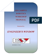 Proposal Workshop- Engineer's Window_Robotics
