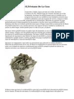 Eje De Banco De Préstamo De La Casa