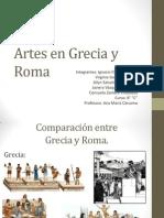 Artes en Grecia y Roma