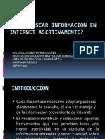 Como Buscar Informacion en Internet Asertivamente