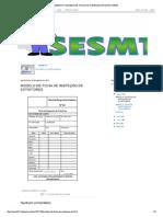 Sesmt01 Modelo de Ficha de Inspeção de Extintores