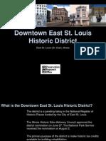 Downtown East St Louis Historic District Presenation