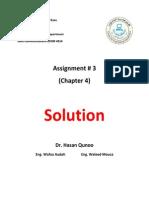 Assignment 3 Sol