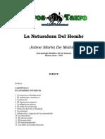 De Mahieu, Jaime Maria - La Naturaleza Del Hombre