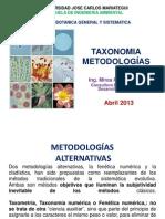 CARACTERES TAXONOMICOS-CLASIFICACION