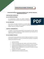 ESPECIFICACIONES TECNICAS PACOYAN