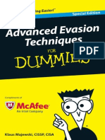 Advanced Evasion Techniques for Dummies